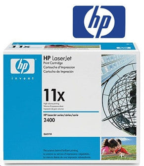 HP Q6511X (HP 11X) Genuine High Yield  Black  Toner Cartridge