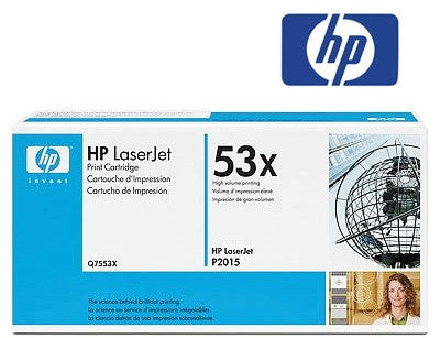 HP Q7553X genuine printer cartridge from HP