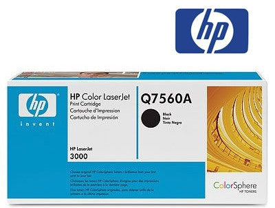 HP Q7560A genuine black  toner cartridge