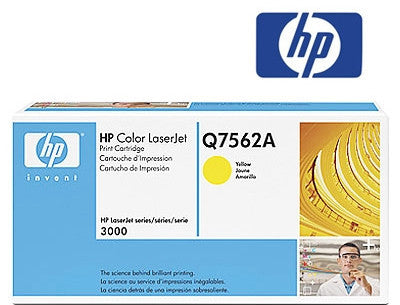 HP Q7562A Genuine Yellow Toner Cartridge