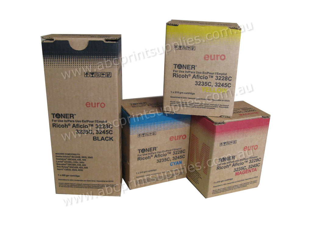 Ricoh Type R2 888344, 888345, 8883346, 888347 B,C,M,Y compatible printer cartridges