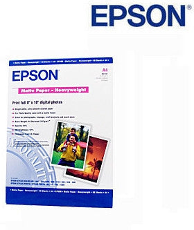 Epson C13S041263, S041263 A3 sheets matte paper X 50 sheets plus 329 x 483mm sheets