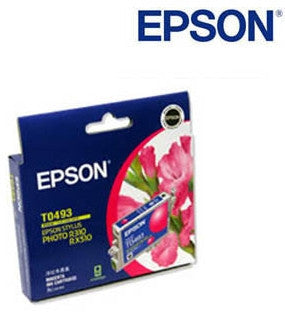 Epson C13T049290 T0493 magenta genuine printer cartridge