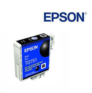 Epson T0751 Black Ink Cartridge Genuine