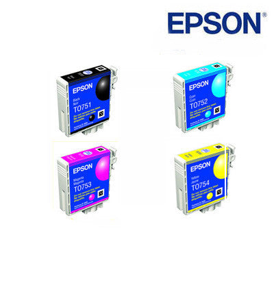 Epson T0751-754 Bundle Genuine