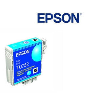 Epson T0752 Cyan Ink Cartridge Genuine