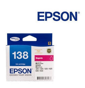 Epson T1383, Genuine C13T138392 High Capacity Magenta Ink Cartridge