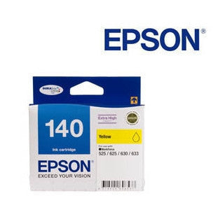 Epson C13T140492, T1404 genuine yellow printer cartridge