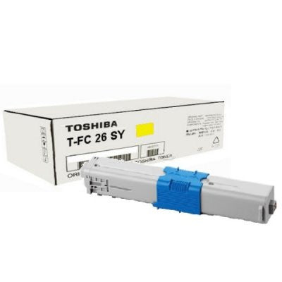 Toshiba TFC26SY Yellow Toner Cartridge