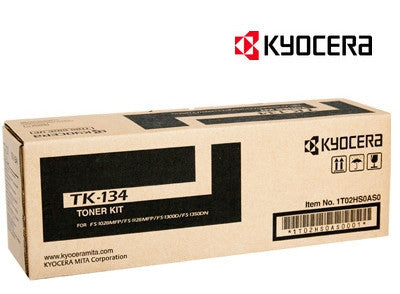 Kyocera TK-134 genuine printer cartridge