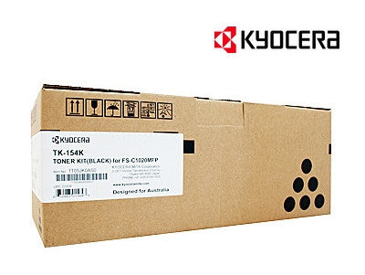 Kyocera TK-154K Genuine Black Laser Cartridge