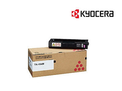 Kyocera TK-154M Genuine Magenta Laser Cartridge