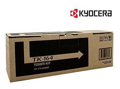 Kyocera TK-164 Genuine Mono Laser Cartridge
