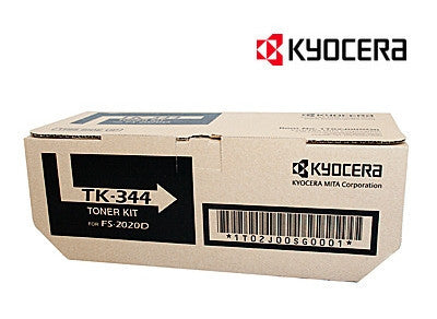 Kyocera TK-344 Genuine Laser Toner Cartridge