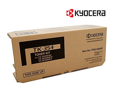 Kyocera TK-354B Genuine Laser Toner Cartridge