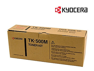 Kyocera TK-500M Genuine Magenta Laser Cartridge