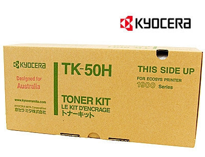 Kyocera TK-50H Genuine Laser Toner Cartridge
