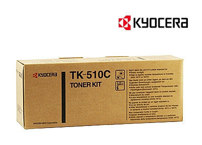 Kyocera TK-510C Genuine Cyan Laser Cartridge