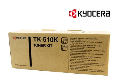 Kyocera TK-510K Genuine Black Laser Cartridge