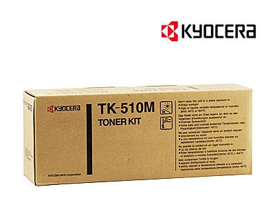 Kyocera TK-510M Genuine Magenta Laser Cartridge