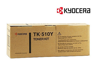 Kyocera TK-510Y Genuine Yellow Laser Cartridge