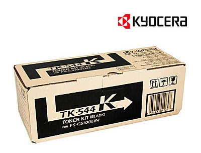 Kyocera TK-544K genuine printer cartridge for  Kyocera FS-C5100DN printer