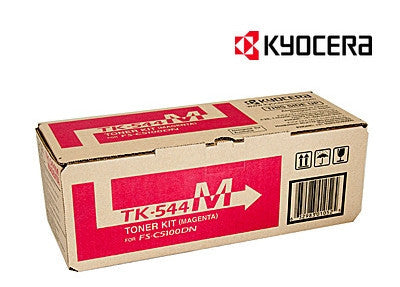 Kyocera TK-544M Genuine Magenta Laser Cartridge