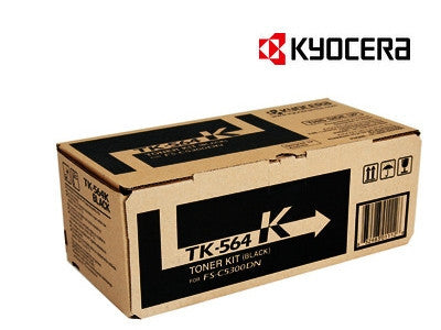 Kyocera TK-564K Genuine Toner Cartridge