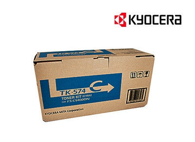 Kyocera TK-574C Genuine Cyan Toner Cartridge