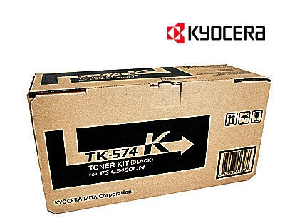 Kyocera TK-574K Genuine Black Toner Cartridge
