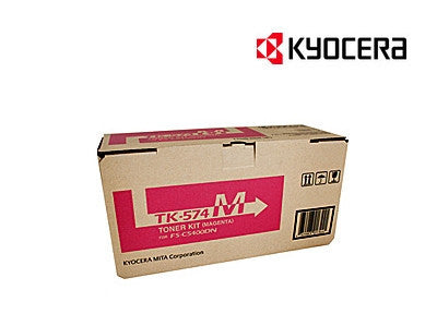 Kyocera TK-574M Genuine Magenta Toner Cartridge