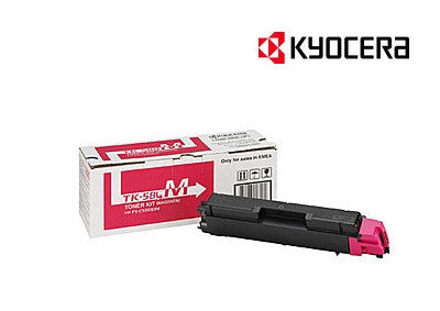 Kyocera TK-584M Genuine Magenta Laser Cartridge