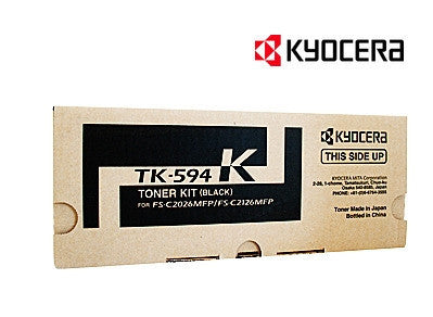 Kyocera TK-594K Genuine Black Laser