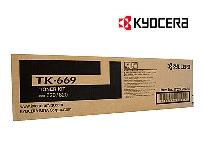 Kyocera TK-669 Genuine Black Toner Cartridge