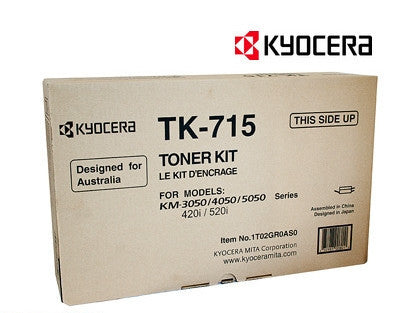 Kyocera TK-715 Genuine Copier Cartridge