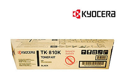 Kyocera TK-810K Genuine Black Toner Cartridge