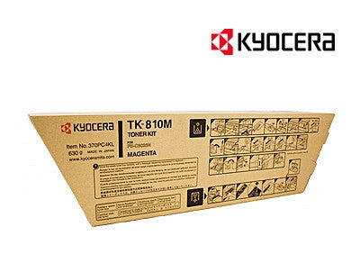 Kyocera TK-810M Genuine Magenta Toner Cartridge