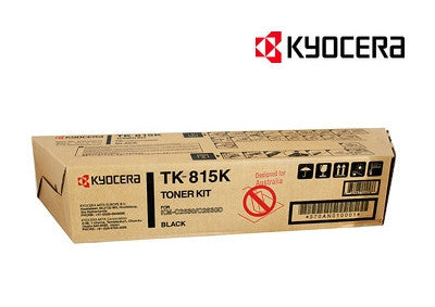 Kyocera TK-815K Genuine Black Toner Cartridge
