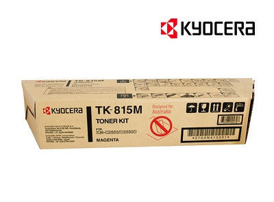 Kyocera TK-815M Genuine Magenta Toner Cartridge