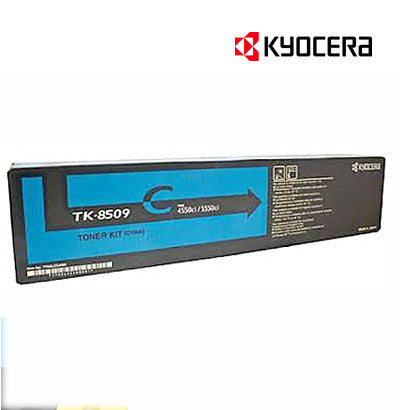 Kyocera TK-8509C Genuine Cyan Toner Cartridge