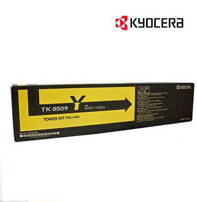 Kyocera TK-8509Y Genuine Yellow Kyocera Toner Cartridge