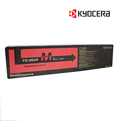 Kyocera TK-8509M Genuine Magenta Toner Cartridge