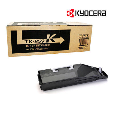 Kyocera TK-859K Genuine Black Toner Cartridge