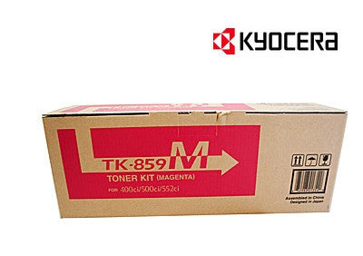 Kyocera TK-859M Genuine Magenta Toner Cartridge