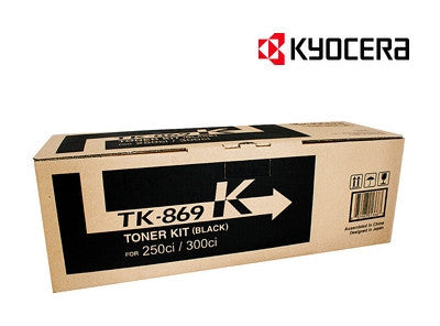 Kyocera TK-869K Genuine Black Copier Toner Cartridge