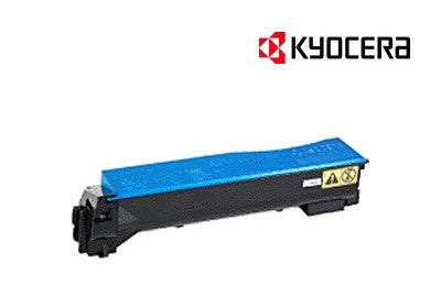 Kyocera TK-884C Genuine Cyan Toner Cartridge