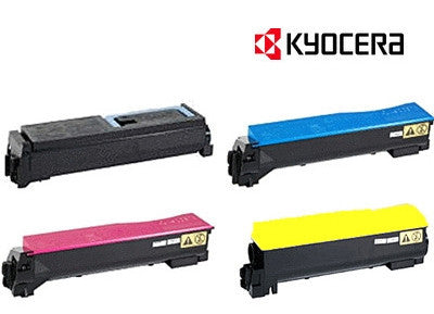 Kyocera TK-884 Genuine B,C,M,Y Bundle Toner Cartridges