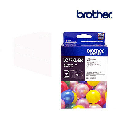 Brother LC77XLBK  Genuine Black Ink Cartridge