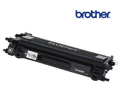 Brother TN-155BK genuine black laser cartridge - 5,000 page yield