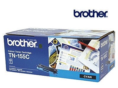 Brother TN155C cyan for DCP9040CN, HL4040CN, HL4050CDN, MFC9440CN, MFC9450CDN, MFC9840CDW printers